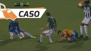 Estoril Praia, Caso, Léo Bonatini aos 39'