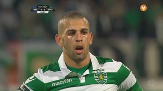 Sporting CP, Jogada, Slimani aos 38'