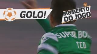 GOLO! Sporting CP, T. Gutiérrez aos 9', SL Benfica 0-1 Sporting CP