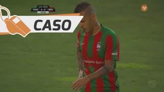 SL Benfica, Caso, Pizzi aos 30'