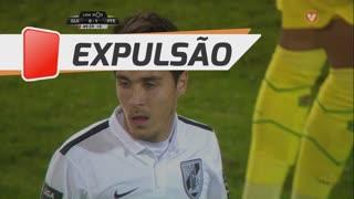 Vitória SC, Expulsão, João Teixeira aos 45'+5'
