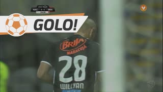 GOLO! CD Nacional, Willyan aos 25', CD Nacional 1-1 SC Braga