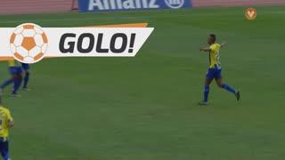 GOLO! U. Madeira, Toni Silva aos 48', U. Madeira 3-0 CD Nacional