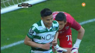 Sporting CP, Jogada, T. Gutiérrez aos 44'