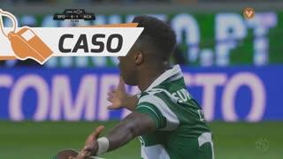 Sporting CP, Caso, Carlos Mané aos 13'