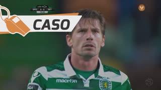 Sporting CP, Caso, Adrien Silva aos 14'