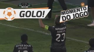 GOLO! Sporting CP, Adrien Silva aos 53', Marítimo M. 0-1 Sporting CP