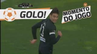 GOLO! A. Académica, João Real aos 45'+1', A. Académica 1-1 FC P.Ferreira