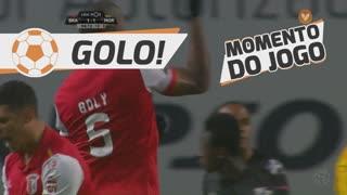 GOLO! SC Braga, W. Boly aos 90'+5', SC Braga 1-1 Moreirense FC
