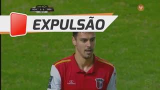 SC Braga, Expulsão, André Pinto aos 78'