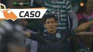 Sporting CP, Caso, Montero aos 77'