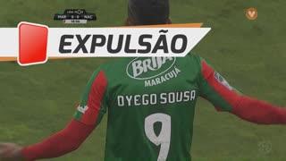 Marítimo M., Expulsão, Dyego Sousa aos 19'