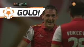 GOLO! SC Braga, N. Stojiljković aos 34', SC Braga 2-0 Marítimo M.