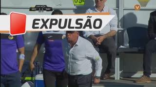 FC Arouca, Expulsão, Carlos Pinho aos 4'