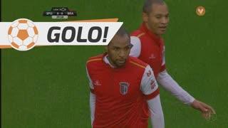 GOLO! SC Braga, Wilson Eduardo aos 40', Sporting CP 0-1 SC Braga