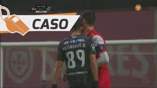 SC Braga, Caso, André Pinto aos 35'