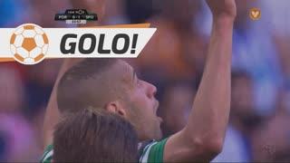 GOLO! Sporting CP, Slimani aos 23', FC Porto 0-1 Sporting CP