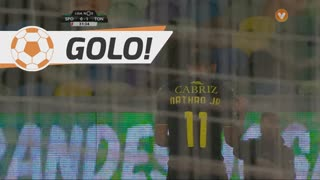 GOLO! CD Tondela, Nathan Junior aos 31', Sporting CP 0-1 CD Tondela