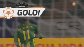 GOLO! CD Tondela, Nathan Junior aos 32', CD Tondela 1-1 Boavista FC