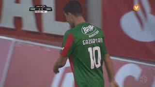 Marítimo M., Jogada, G. Ghazaryan aos 90'+4'