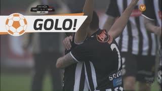 GOLO! CD Nacional, Tiquinho aos 50', CD Nacional 1-1 SL Benfica