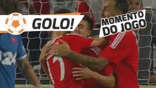 GOLO! SL Benfica, Gaitán aos 60', SL Benfica 5-0 Belenenses