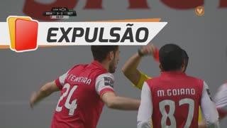 SC Braga, Expulsão, Ricardo Ferreira aos 89'