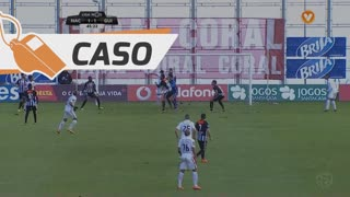 CD Nacional, Caso, Rui Correia aos 44'