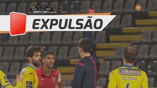 SC Braga, Expulsão, Djavan aos 64'