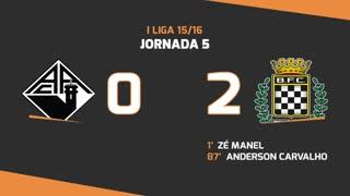 I Liga (5ªJ): Resumo A. Académica 0-2 Boavista FC