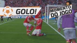 GOLO! SL Benfica, Jardel aos 47', SL Benfica 1-0 Vitória SC