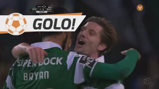 GOLO! Sporting CP, B. Ruiz aos 45', Sporting CP 2-0 Boavista FC