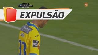 FC Arouca, Expulsão, Jubal aos 39'