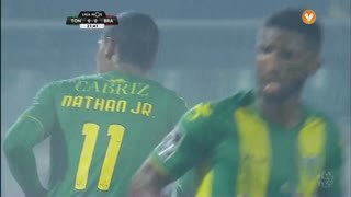 CD Tondela, Jogada, Nathan Junior aos 22'