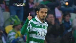 Sporting CP, Jogada, B. Ruiz aos 3'