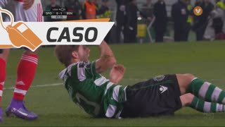 Sporting CP, Caso, Adrien Silva aos 27'