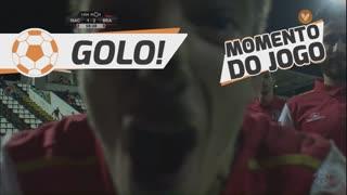 GOLO! SC Braga, Pedro Santos aos 59', CD Nacional 1-2 SC Braga