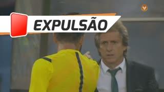 Sporting CP, Expulsão, Jorge Jesus aos 45'