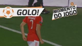 GOLO! SL Benfica, Samaris aos 75', SL Benfica 5-0 SC Braga