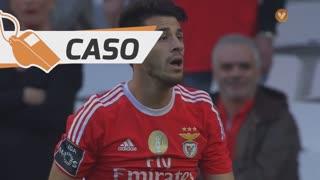 SL Benfica, Caso, Pizzi aos 19'