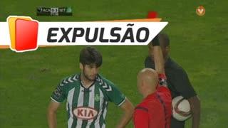 Vitória FC, Expulsão, Fábio Pacheco aos 78'