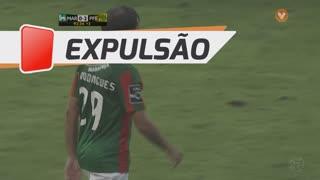 Marítimo M., Expulsão, Tiago Rodrigues aos 90'+3'