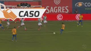 Sporting CP, Caso, A. Aquilani aos 66'