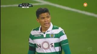 Sporting CP, Jogada, T. Gutiérrez aos 19'