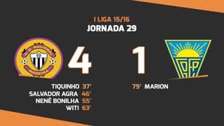 I Liga (29ªJ): Resumo CD Nacional 4-1 Estoril Praia