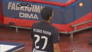 A. Académica, Jogada, Pedro Nuno aos 21'