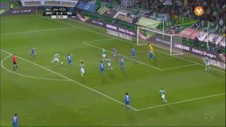Sporting CP, Jogada, Adrien Silva aos 3'