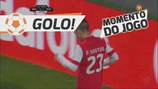 GOLO! SC Braga, Pedro Santos aos 64', SC Braga 3-1 Rio Ave FC