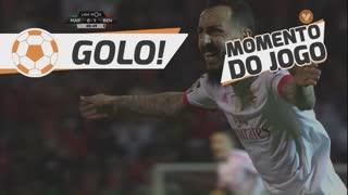 GOLO! SL Benfica, K. Mitroglou aos 48', Marítimo M. 0-1 SL Benfica
