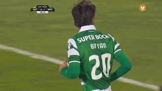 Sporting CP, Jogada, B. Ruiz aos 26'